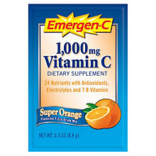 Emergen-C Orange Beverage - 50 Packages, UNE-ALAEV279