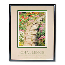 Challenge Motivational Print, UNE-AVT78032