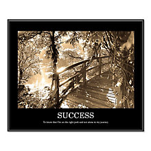 Success Motivational Print, UNE-AVT78161