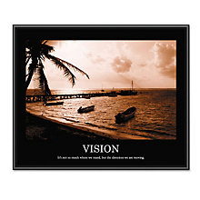 Vision Motivational Print, UNE-AVT78163