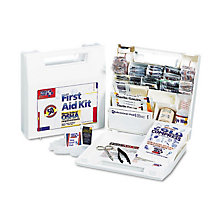 First Aid Kit for up to 50 People - 195 Pieces, UNE-FAO225AN