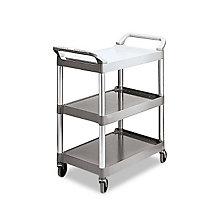 Three Shelf Utility Cart, UNE-RCP342488PM