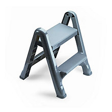 Folding Plastic Step Stool, UNE-RCP420903CYLND