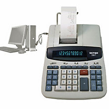 Heavy-Duty Desktop Commercial Calculator, UNE-VCT12807