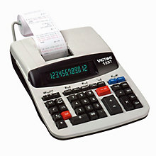 Commercial Desktop Calculator, UNE-VCT1297