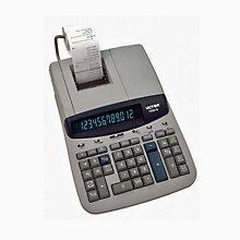 Desktop Calculator 12-Digit Fluorescent Display, UNE-VCT15606