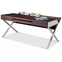 "Modrest Contemporary Computer Desk - 55""W, 8804923"