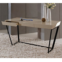 "Modrest High Gloss Writing Desk - 55""W, 8804926"