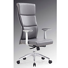 Modrest High Back Office Chair in Faux Leather, 8804945