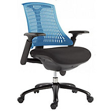Modrest Plastic Back  Task Chair in Fabric, 8804948
