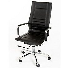 Modrest High Back Computer Chair in Faux Leather, 8804952