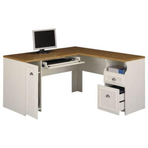L Shape Desk W Right Return Fairview By Bush