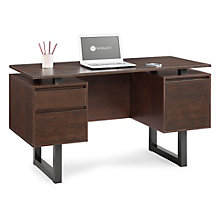 "Cooper Modern Floating Top Computer Desk - 54"", 8801311"