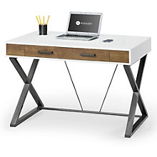 "Samford Contemporary Two Tone Laptop Desk - 47.64"", 8801312"