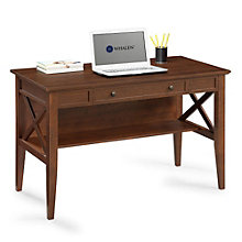 "Norcross Traditional Compact Laptop Desk - 47.625"", 8801313"