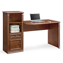 "Belmont Computer Desk with Storage Tower - 59.84"", 8801315"