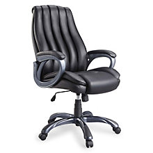 Kenai Modern Tufted Back Computer Chair in Bonded Leather, 8801319