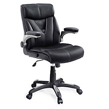 Cordilera Computer Chair with Flip Arms in Bonded Leather, 8801320