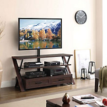 Stinson 3 Shelf Flat Panel TV Stand, 8801327