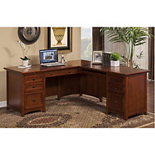 "Flagstaff L-Desk with Right Return - 72""W, 8804676"