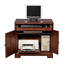 "Classic Cherry Computer Cabinet - 32""W, 8803295"
