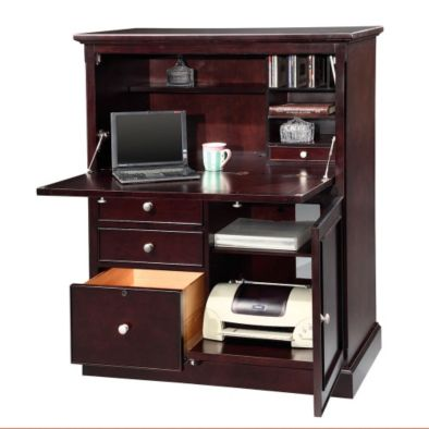 Features Include Multiple Drawers CPU Tower Printer And File Storage Many Also A Drop Front Allowing You To Use For Extra Workspace When Needed