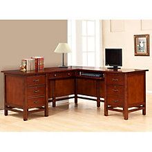 "Willow Creek L-Desk with Right Return - 68.5""W, 8803364"