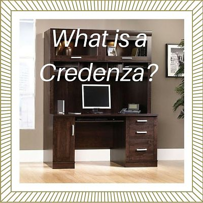 What is a Credenza?