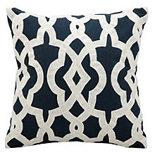 "kathy ireland by Nourison Interlock Pattern Accent Pillow - 18""W x 18""H, 8803808"