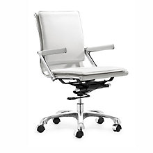 Lider Plus Vinyl Desk Chair, ZUO-215212
