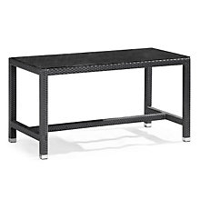 "Myrtle 28"" x 29"" Glass Top Outdoor Dining Table, ZUO-701012"