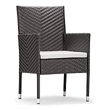 Catalan Closed Arm Outdoor Dining Chair, ZUO-701363
