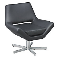 "Vinyl Swivel Guest Chair - 31""W, AVN-250032"
