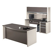 Connexion Desk and Credenza Set, OFG-EX1027