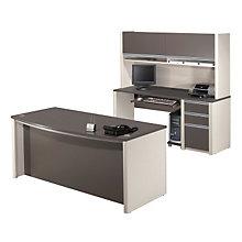 Connexion Desk and Credenza Set, OFG-EX1027