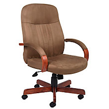 Shephard Tufted Microfiber Executive Chair, 8803642
