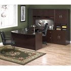 U-Desk with Hutch and Storage, OFG-UD1018