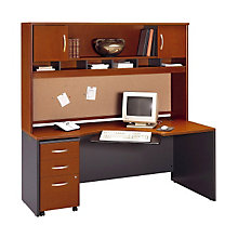 Corner Desk with Hutch, OFG-DH1063