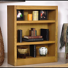 "Midas Three Shelf Bookcase - 36""H, CIW-MI3036"