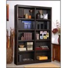 "Ten Shelf Double Bookcase - 72""H, CIW-MI4872"
