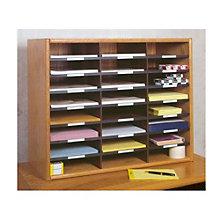 Letter Size Literature Organizer - 24 Slots, CIW-LO24