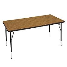 "Adjustable Height Rectangular Activity Table - 36"" x 72"", OFG-TS1040"