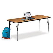 "72"" W x 30"" D Adjustable Height Utility Table, VIR-10235"