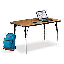 "48"" W x 24"" D Adjustable Height Utility Table, VIR-10237"