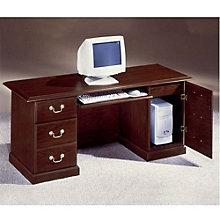 Mahogany Computer Credenza, DMI-7462-22