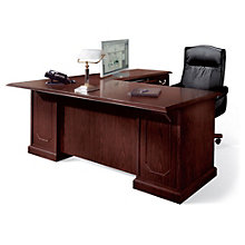 "Mahogany 72"" Executive Right ""L"" Desk, DMI-7462-37"