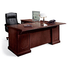 "Mahogany 72"" Executive Left ""L"" Desk, DMI-7462-38"