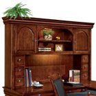 Chocolate Patina Executive Overhead Storage Hutch, DMI-7684-62