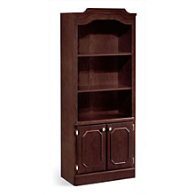 Mahogany Doored Bookcase, DMI-7462-09