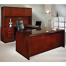 Summit Cope Reversible U-Desk with Hutch, OFG-UD0032